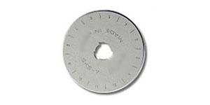 Сменное лезвие, запасные лезвия для нож раскройный, нож дисковый ø45 мм, DAFA