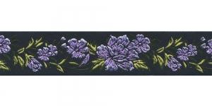 Must, Helelilla lillemustriga pael 32 mm, Art. 35096