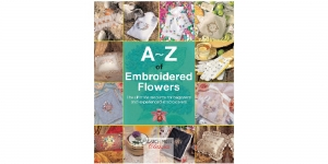 Raamat `A-Z of Embroidered Flowers`