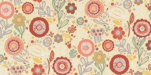 Tugevam dekoratiivkangaskangas õiemustriga, Art.3599-52