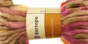 Villane viltimisheie-lõng Wool Decor Prints, 200g, 30m, Kartopu, värv D3160
