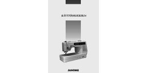 Janome MemoryCraft 6500P käyttöohjekirja FIN