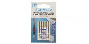 Super Universal home sewing machine needles, Schmetz No.80