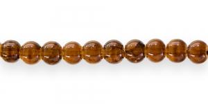 KE11 6mm Karamellipruun mõraline klaashelmes