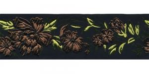 Must, Pruuni lillemustriga pael 48 mm, Art. 50096, V7