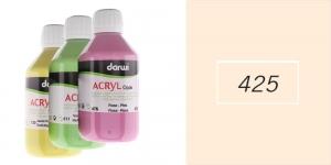 Akrüülvärv, läbipaistmatu, 250ml, Darwi Acryl Opaque, CARNATION 425