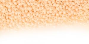 HC57 Tšehhi Preciosa terahelmed, Nr.9 (2,4-2.8mm) Kreemjasvalged läbipaistmatud kõrgläikega terehelmed