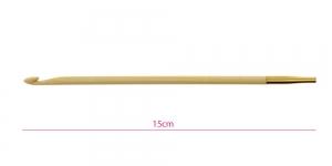 Bambusest tuniisi heegelnõelte vahetatavad otsikud Bamboo, Nr. 4,0mm, KnitPro 22523