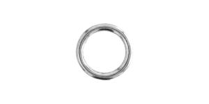Metallirengas ø15 mm, pinnoite: nikkeli, SHR18