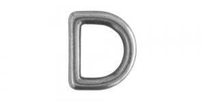 24 mm x 20 mm Antiikhõbedane, D- aas SHD136/IR809