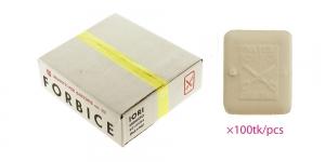 Itaalia kvaliteet-rätsepakriit Narca Forbice Original, 55mm x 45mm, 100tk, valge