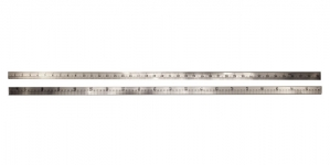 Kerge alumiiniumist meeter-joonlaud, Aluminium Ruler with metric and inch scale, 100cm/40`inch
