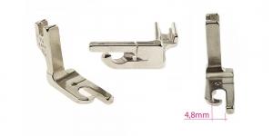 Kõrge kruvikinnitusega (tööstusliku õmblusmasina standard) kappõmbluse tald 4,8 mm, KL0857