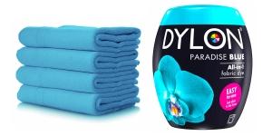 Pesumasinavärv, sisaldab soola, 350 g, Värv: Türkiissinine, Paradise Blue #21
