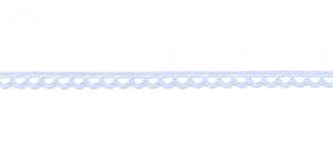 Puuvillane pits 3174-19 laiusega 0,8 cm, värv helesinine