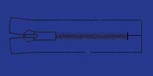 Plast hammaslukk, traktorlukk, Opti 8mm, 15-16cm, alt kinni, värv 7285