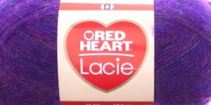 Siidjalt pehme akrüüllõng Lacie, Red Heart, värv nr. 3, lilla