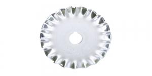 Зигзаг сменное лезвие, запасные лезвия для нож раскройный, нож дисковый ø45 мм, 1 шт, OLFA, PIB45-1