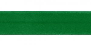 Roheline samet diagonaalkant / 18mm, `Vellut` / Värv 64