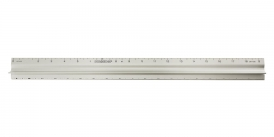 Aluminium Safety Ruler, inches, Duroedge DR-195