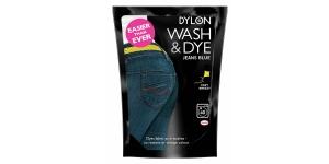Konepesuväri DYLON Wash & Dye, sis suolan, 350 g, farkkusininen, Jeans Blue #03