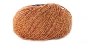 Alpakavillast ja naturaalsest siidikiust lõng Alpaca Silk; Värv 35 (Terracota), Alpaca Silk Yarn; Colour 35 (Terracota), Austermann