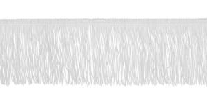 Lihtsad narmad pikkusega 10 cm, värv valge, 1