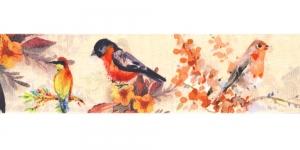 Õrna õiemustriga ripspael laiusega 48mm, Art.P1771, värv 84