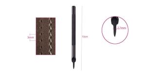 Augumeislid nn teemant-õmblusaukude löömiseks, samm: 3 mm, auk: 2,7 mm - 1 TERAGA, KL1652