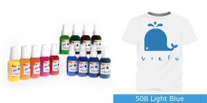 Spreivärvid kanga värvimiseks, Fabric Paint Spray, 50 ml, Vielo, Värv: heledam sinine, #508 Light Blue