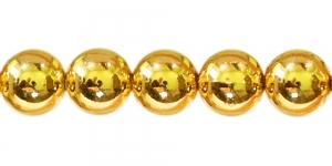 BJ2 20mm Kuldne ümar plasthelmes