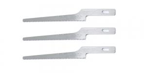 Kunstnikunoa 3 saetera, 3 Spare Fine Saw Blades for Professional Art Knife AK-4, OLFA, KB4-NS/3