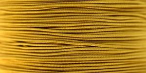Elastic Cord Ø 1,2 mm / Colour no. 4203, Mustard