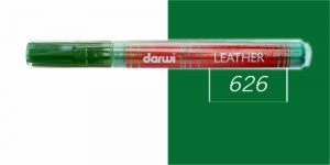 Naha viltpliiats Darwi Leather, 2mm joon, 6ml, DARK GREEN 626