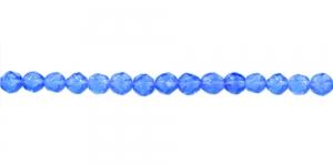 LN1115 4mm Koobaltsinine, läbipaistev klaashelmes