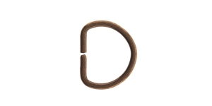 D-ring, half ring for tape width: 10-12mm, SHD67