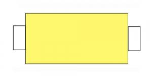 Õmblusniit, 100% PES, 366m, hele sidrunikollane CA1099-CA646; ID106-ID646