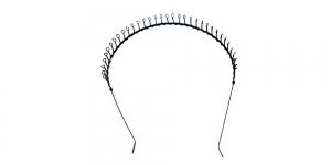 Metallist peavõru toorik must, 14 x 13,5cm ja 1,5 x 0,2cm, EK106