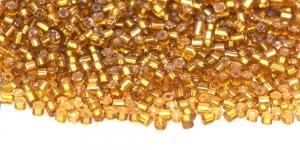 Czech Preciosa Ornela Bugle Beads Nr.11 (2-2,1mm), Color HG29