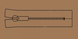 Plast hammaslukk, traktorlukk, Koh-I-Noor, 30cm alt kinni, värv 8548