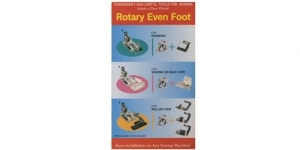 Rotary Even Foot set Janome #323.7777