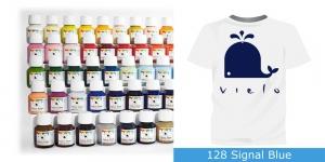 Fabric Paint Vielo, 50 ml #128 Signal Blue