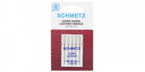 Leather Needles for Home useSewing Machines, Schmetz, No. 120 (19)