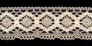 Cotton Crochet Lace 1823-L1, 7 cm