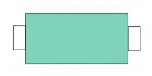 Швейная нить 100%PES, 400yrd/366м, цвет: ID192-ID373