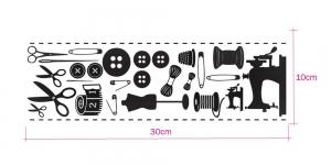 Kuumkinnitusega sametmotiivid, Illusion Chic Ki-Sign KS-FD-33