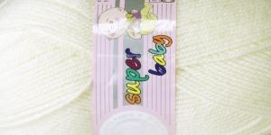 Beebilõng Super Baby; Värv 5 (Kreemjasvalge), Madame Tricote