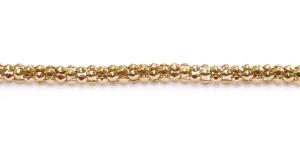 Kuldne Alumiiniumkett, 4 mm, MB41