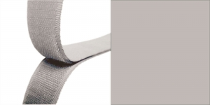 Hook and Loop tape, 20 mm, 25 cm, lighter grey #76
