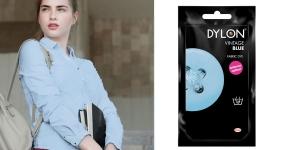 Käsi-riidevärv Dylon Fabric Dye, 50 g, Värv: Heledam sinine, Vintage Blue